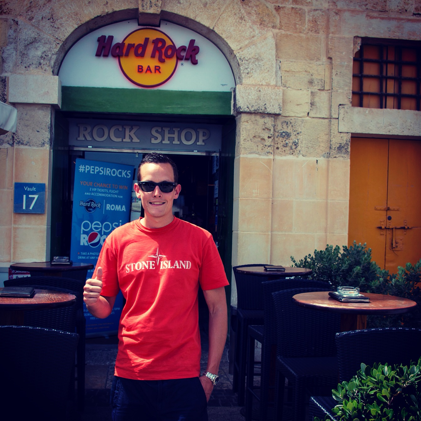 Hard Rock Bar Malta - visited in 2014