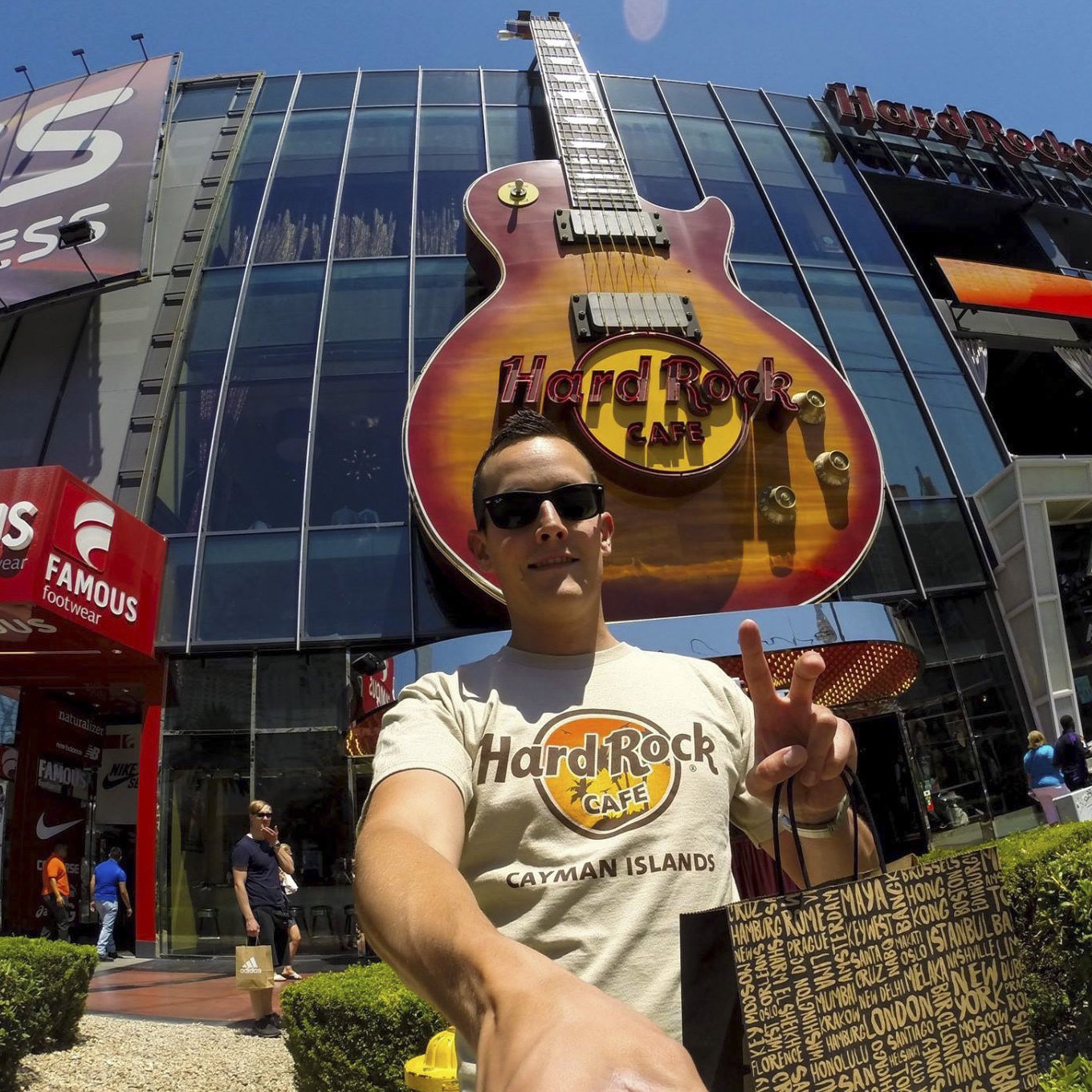 Hard Rock Cafe Las Vegas Strip - visited in 2016